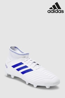 adidas White Virtuso Predator FG Junior & Youth