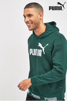 Puma® Green Amplified Logo Hoody
