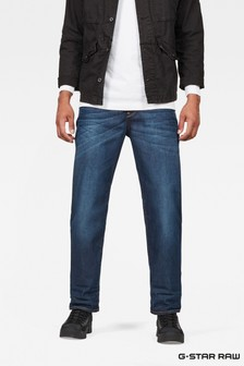 G-Star Dark Aged 3301 Relaxed Jeans