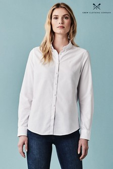 Crew Clothing White Bracken Oxford Shirt