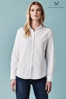 Crew Clothing White Bracken Oxford Shirt