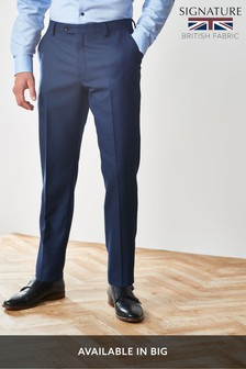 Empire Mills Signature Birdseye Suit: Trousers