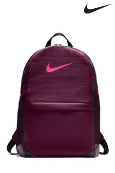 Nike Kids Burgundy Brasilia Backpack
