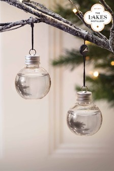 6 Pack Gin Baubles by The Lakes Distillery
