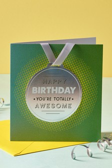 Birthday Medal Card
