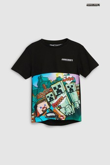 Minecraft Creeper T-Shirt (4-14yrs)