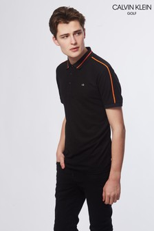 Calvin Klein Golf Black Extension Polo