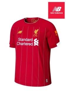 New Balance - Liverpool FC 19/20 - Maglia da ragazzo