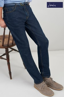 Joules Blue 5 Pocket Straight Fit Jean