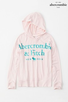 Abercrombie & Fitch Pink Sporty Hoody