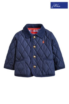 Joules Blue Milford French Quilted Jacket
