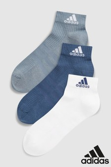 adidas Adults Ankle Socks 3 Pack