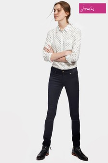 Joules Blue Black Skinny Stretch Monroe Jean