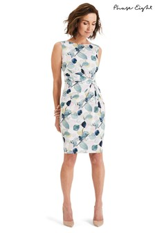 c557da94b0162 Phase Eight Multi Laina Lea Printed Twist Dress