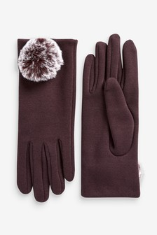 Jersey Pom Gloves