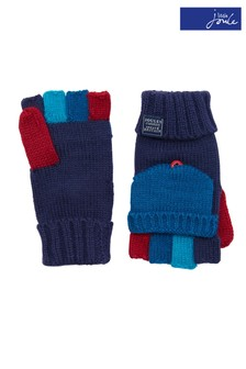 Joules Navy Convertible Gloves