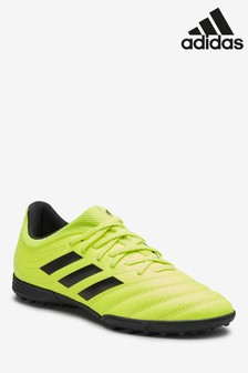 adidas Yellow Hardwired Copa Turf Junior & Youth Football Boots
