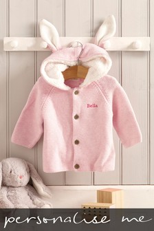 Personalised Bunny Ears Cardigan