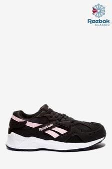 Reebok Black/Pink Aztrek Trainers