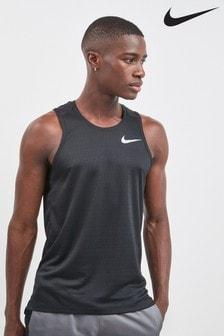 Nike Run Black Miler Tank