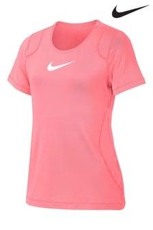 Nike Pro Pink Short Sleeve T-Shirt