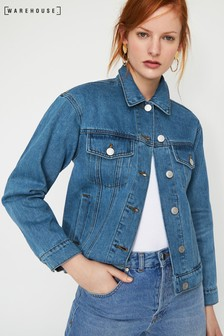 Warehouse Boyfriend Denim Jacket