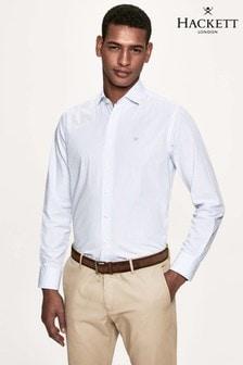 Hackett White Bengal Stripe Shirt