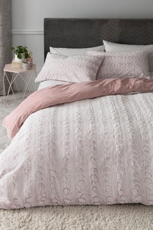 Faux Fur Duvet Cover And Pillowcase Set