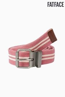 FatFace Pink Stripe Belt