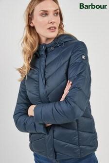 Barbour® Navy Seaward Quilt Jacket
