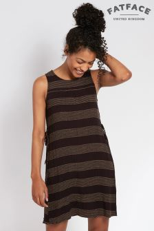 FatFace Phantom Alison Stripe Dress