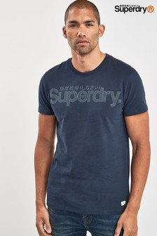 Superdry Navy Tonal Tee