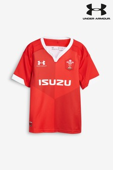 Under Armour Wales Rugby Union Home Jersey