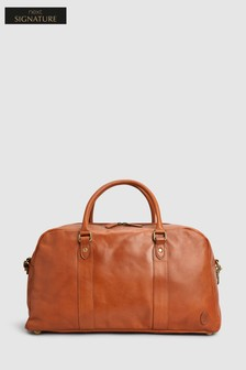 Signature Leather Holdall