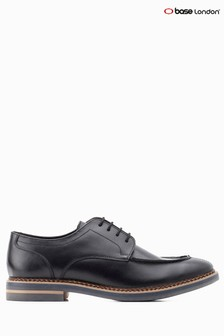 Base London® Black Constable Lace-Up Shoe