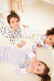 3 Pack Leopard Snuggle Pyjamas (9mths-8yrs)