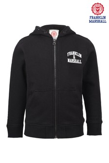 Franklin & Marshall Zip Through Hoody