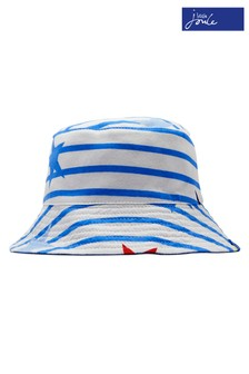 Joules Blue Brit Reversible Bucket Hat