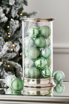 Set of 20 Mixed Baubles