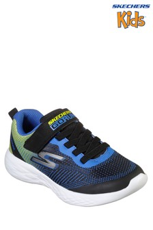 Skechers Black/Blue Go Run 600 Farrox Trainer