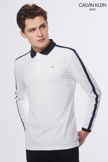 Calvin Klein Golf White Form Polo