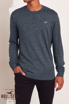Hollister Navy Basic Knit Jumper