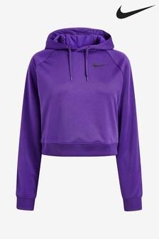 Nike Purple Hyper Femme Cropped Hoody