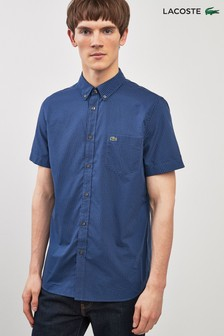 Lacoste® Short Sleeve Check Shirt
