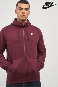 Bluza z kapturem, zapinana na suwak Nike Club