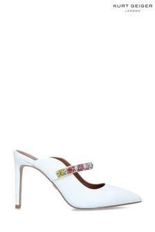 Kurt Geiger London White Duke Rainbow Shoes