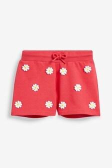Pantaloni scurți cu model margarete (3-16ani)