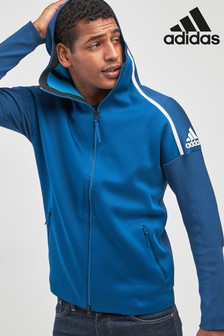 adidas ZNE Prime Knit Zip Through Hoodie