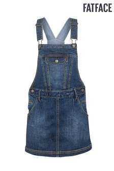 FatFace Denim Pinafore Dress