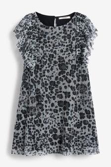 Sparkly Floaty Dress (3-16yrs)